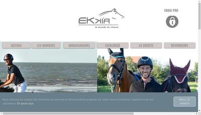 Site internet de Ekkia