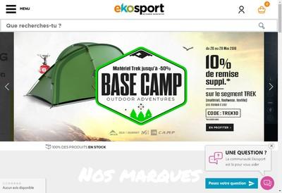 Site internet de Ekosport Achatski Com Achat-Ski Com