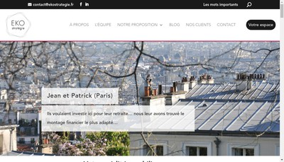 Site internet de Ekostrategie