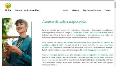 Site internet de Elan