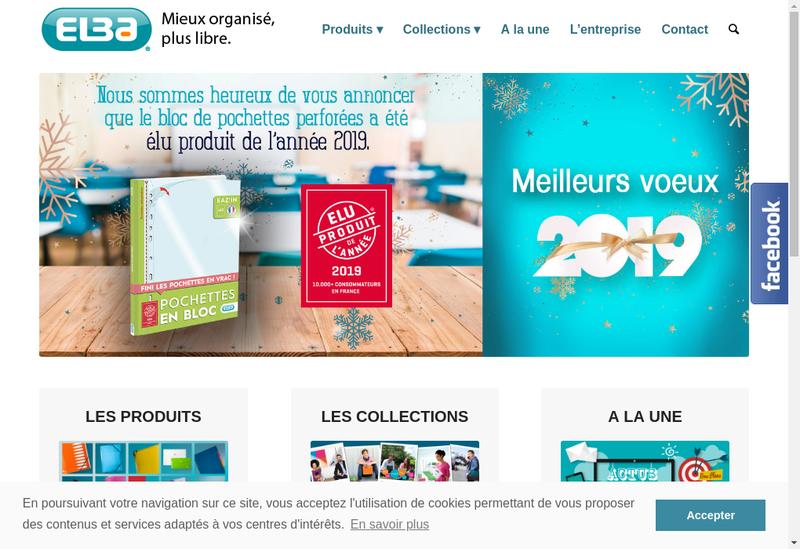 Capture d'écran du site de Elba Moult