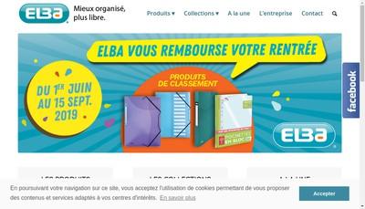 Site internet de Elba Moult