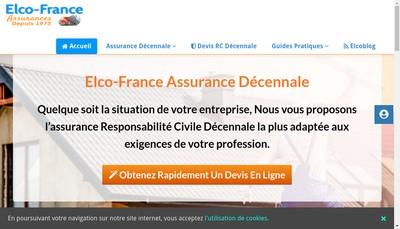 Site internet de Elco France