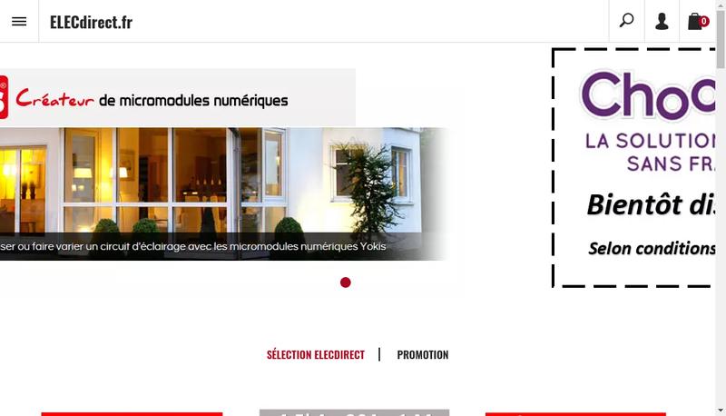Capture d'écran du site de Sld Negoce