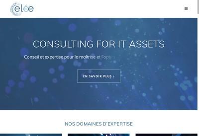 Site internet de Elee