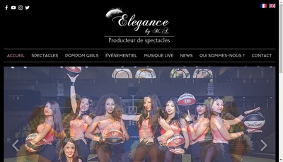 Site internet de Elegance By MA