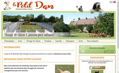 Site internet de SARL du Petit Dan