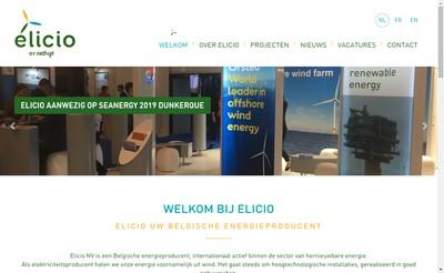 Site internet de Elicio France