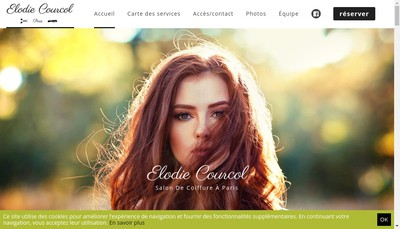 Site internet de Elodie Courcol Paris