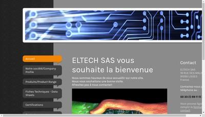 Site internet de Eltech