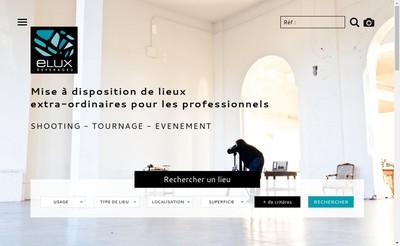Site internet de Elux Reperages