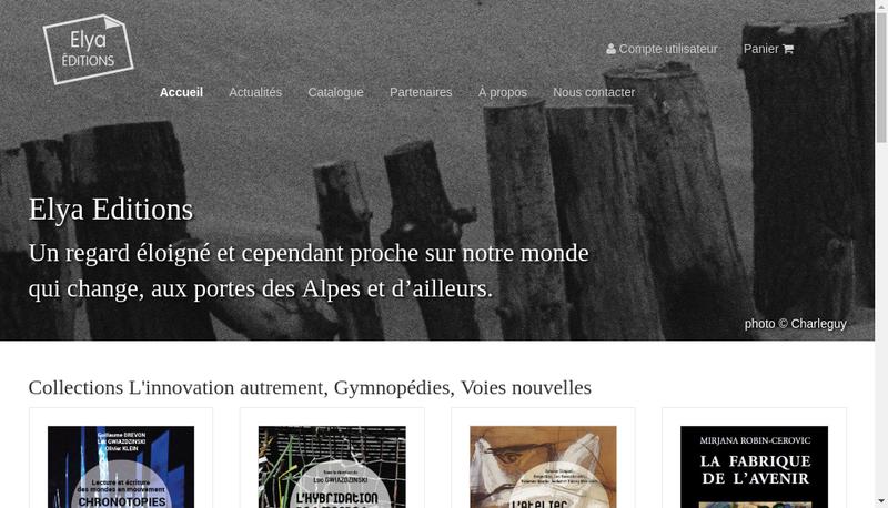 Capture d'écran du site de Elyascop