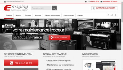 Site internet de Le Service Plus Com E'Maging Production