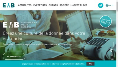 Site internet de Emb France