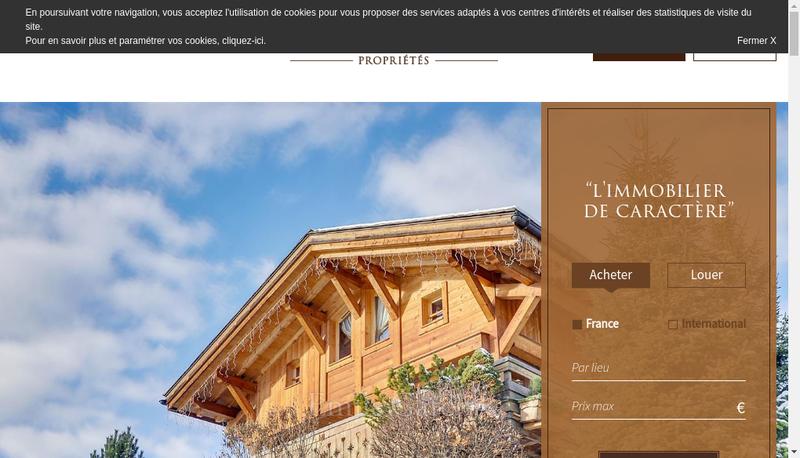 Capture d'écran du site de Lionel Garcin