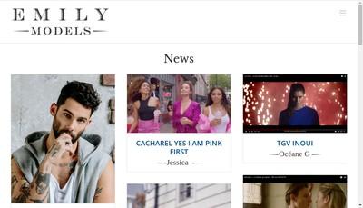 Site internet de Hexagone Talents