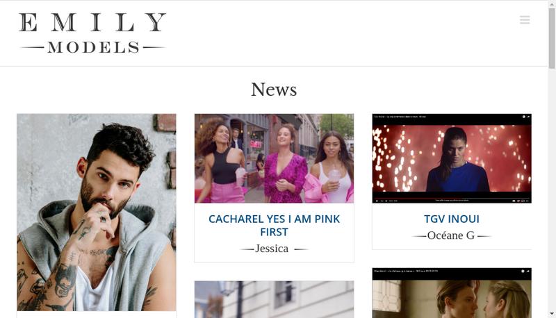 Capture d'écran du site de Hexagone Talents