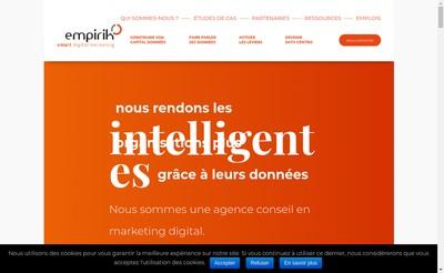 Site internet de Empirik