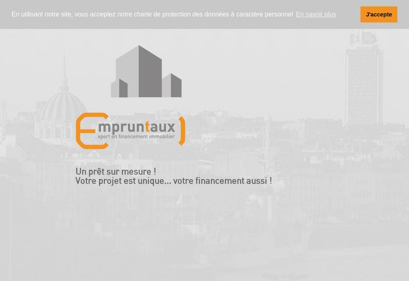 Capture d'écran du site de Empruntaux