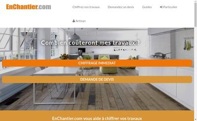 Site internet de Enchantier Com