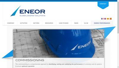 Site internet de Eneor