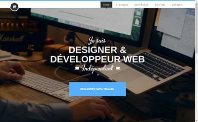 Site internet de Enguerran Weiss