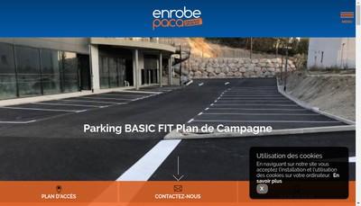 Site internet de Enrobe Paca