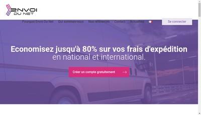 Site internet de Easy Shipping - Envoi du Net