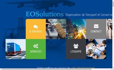 Site internet de Eosolutions