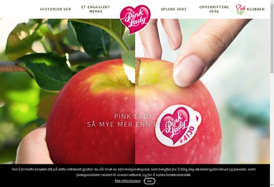 Site internet de Asso Pink Lady Europe