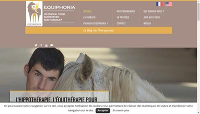 Site internet de Equiphoria