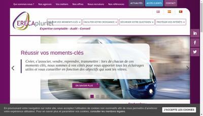 Site internet de Erecapluriel Audit