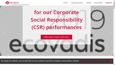 Site internet de Ermewa Holding