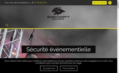 Site internet de Escort Securite Privee SARL