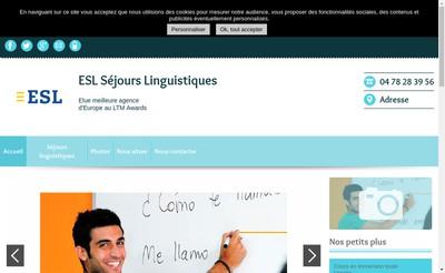 Site internet de Esl Education SAS (France)