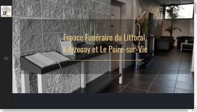 Site internet de Pompes Funebres B Rabiller-J Godreau