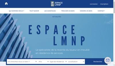 Site internet de Espace Lmnp