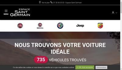 Site internet de Espace St Germain