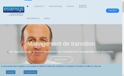 Site internet de Essensys