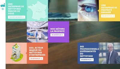 Site internet de Essi Cristal