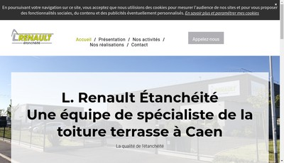 Site internet de SARL L Renault