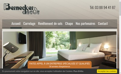 Site internet de Bernecker Decor