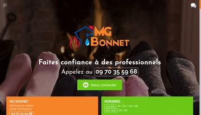 Site internet de M-G Bonnet