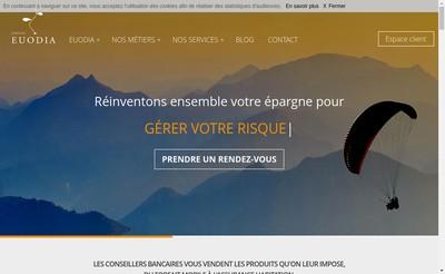 Site internet de Euodia Finance