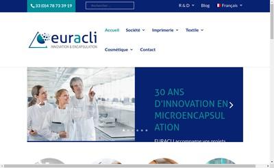 Site internet de EuracliFrance