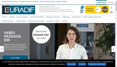 Site internet de Euradif