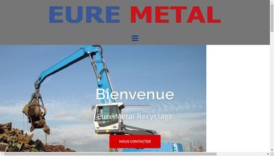 Site internet de Eure Metal