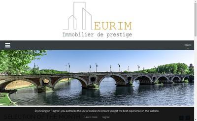Site internet de Eurim