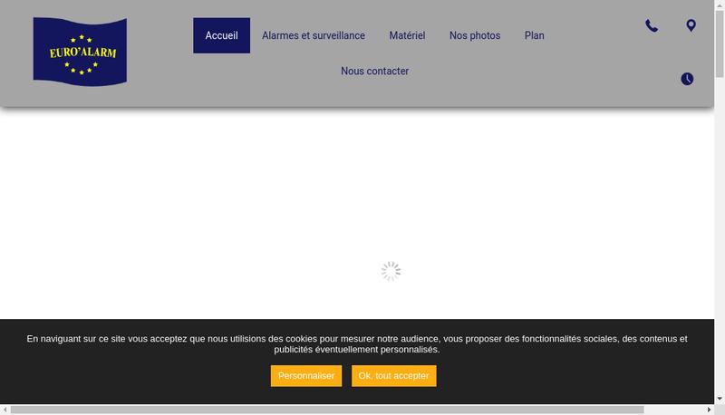 Capture d'écran du site de Aaa Euro Alarm Euro Style Deco