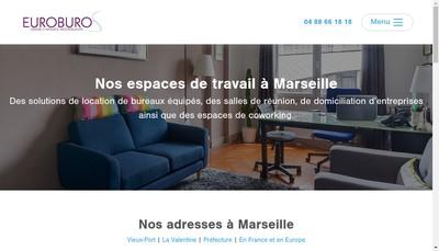 Site internet de Euroburos